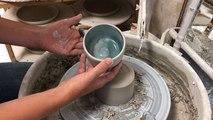 Démonstration de création de céramique avec Clémentine Halberstadt