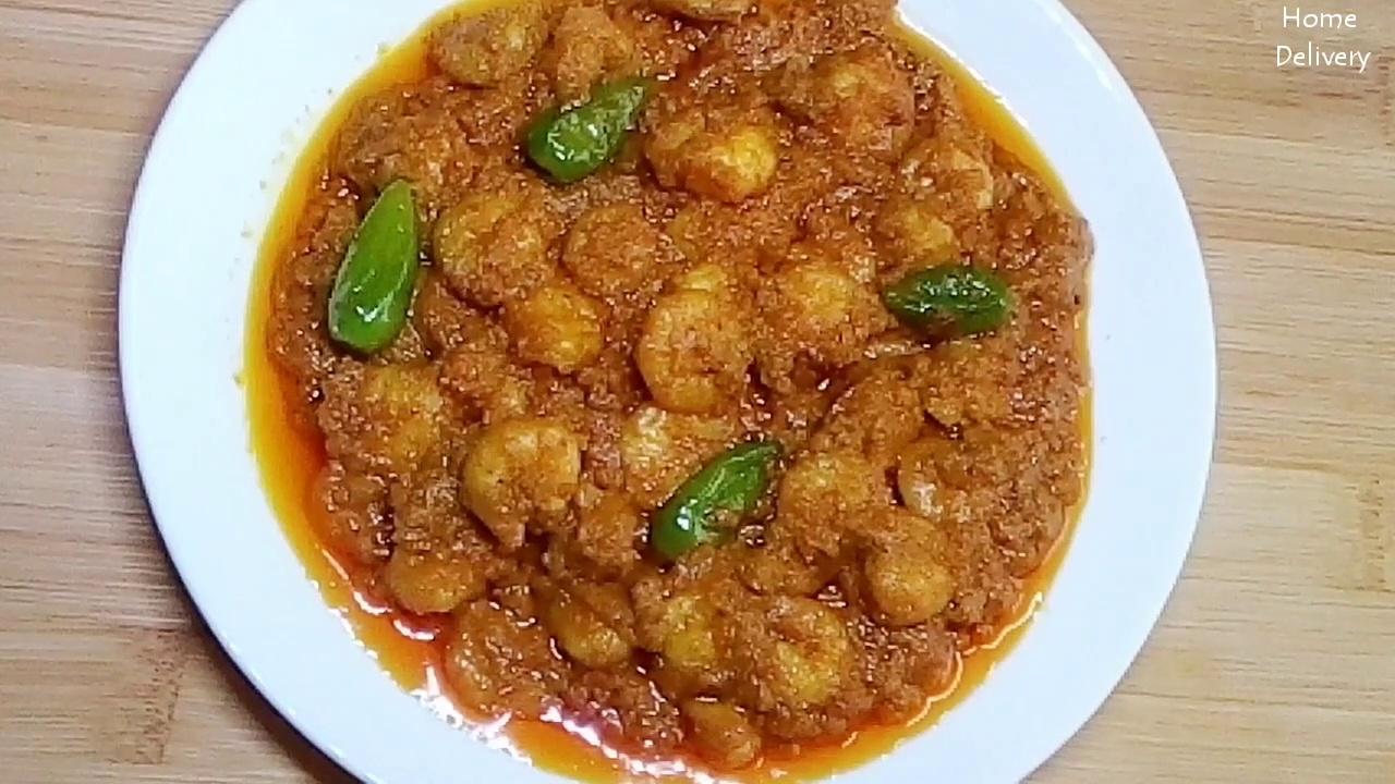 Prawn Malai Curry – A Bengali Classic Recipe | Chingri Macher Malai Curry | Jheenga Malai Curry