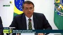 Bolsonaro se reúne com governadores da Amazônia