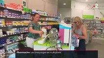 Pharmacies cambriolées : les braquages se multiplient