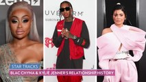 Blac Chyna Wears Same Feathery Mini Dress Kylie Jenner Wore on Her Birthday to the VMAs