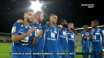 Coupe de la Ligue BKT - 2ème tour : Le résumé de Bourg-en-Bresse / Béziers