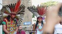 Demo gegen Bolsonaro und Zerstörung des Amazonas