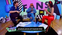 Charles Ans y Nax King en MTV Fans en Vivo