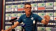 Jean-Louis Garcia, l'entraîneur de l'AS Nancy Lorraine, aimerait un peu de patience