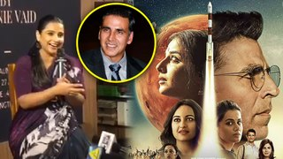Vidya Balan Gives Akshay Kumar CREDIT For Mission Mangal's Success