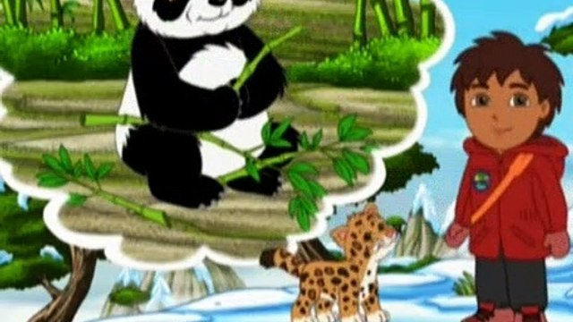 Go Diego Go Season 4 Episode 5 All Aboard the Giant Panda Express