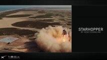 Watch SpaceX Starhopper's Amazing Test Flight