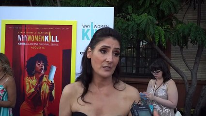 """HHV Exclusive: Alicia Coppola talks """"Why Women Kill"""" role, her character's husband, channeling her NYC heritage, and more!"""