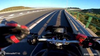 Bất ngờ với tốc độ tối đa của Yamaha MT-10, đạt gần 299 km/h