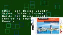 [Doc] San Diego County Street Guide (Thomas Guide San Diego County Including Imperial County