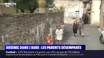 Dans l'Aude, les parents d'enfants intoxiqués à l'arsenic se disent abandonnés par les autorités