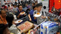 First Costco opens up in Shanghai, closes early because of crowds