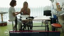 Rencontre avec la première Française à recevoir une prothèse bionique de bras - VIDEO
