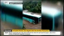 Découvrez les images impressionnantes des dégâts causés par la tempête Dorian dans les Antilles françaises - VIDEO