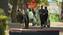 """Découvrez le """"Clean Challenge"""", le défi écolo qui met au défi les habitants des villes depuis plusieurs semaines - VIDEO"""
