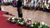 a celebration in a Malaysian school!!