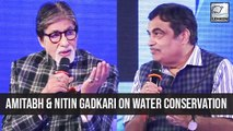 Mission Paani Amitabh Bachchan And Nitin Gadkari Urge People To Save Water