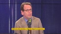 """Réforme des retraites : la question de l'âge pivot """"est un détail"""" affirme Gilles Le Gendre"""