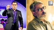 Salman Khan Confirms Quitting Sanjay Leela Bhansali's 'Inshallah'