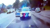 Mann stiehlt Polizeiauto und tötet zwei Kinder