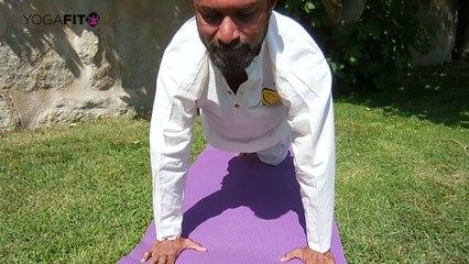 Secuencia de yoga para mejorar la respiración de los deportistas