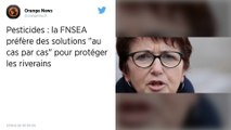 Pesticides : La FNSEA veut des solutions «au cas par cas» pour protéger les riverains