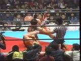 Jumbo Tsuruta vs. Higo Hamaguchi (AJPW Excititing Wars 1986 - Tag 14)