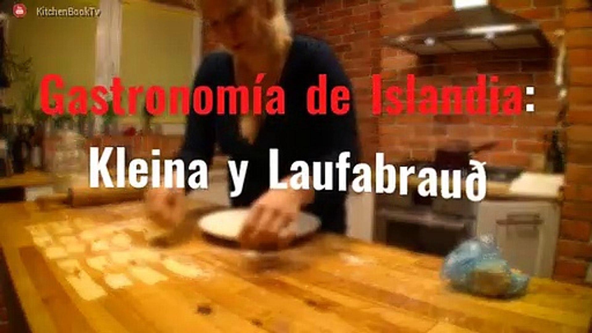Gastronomía de Islandia: Kleina y Laufabrauð