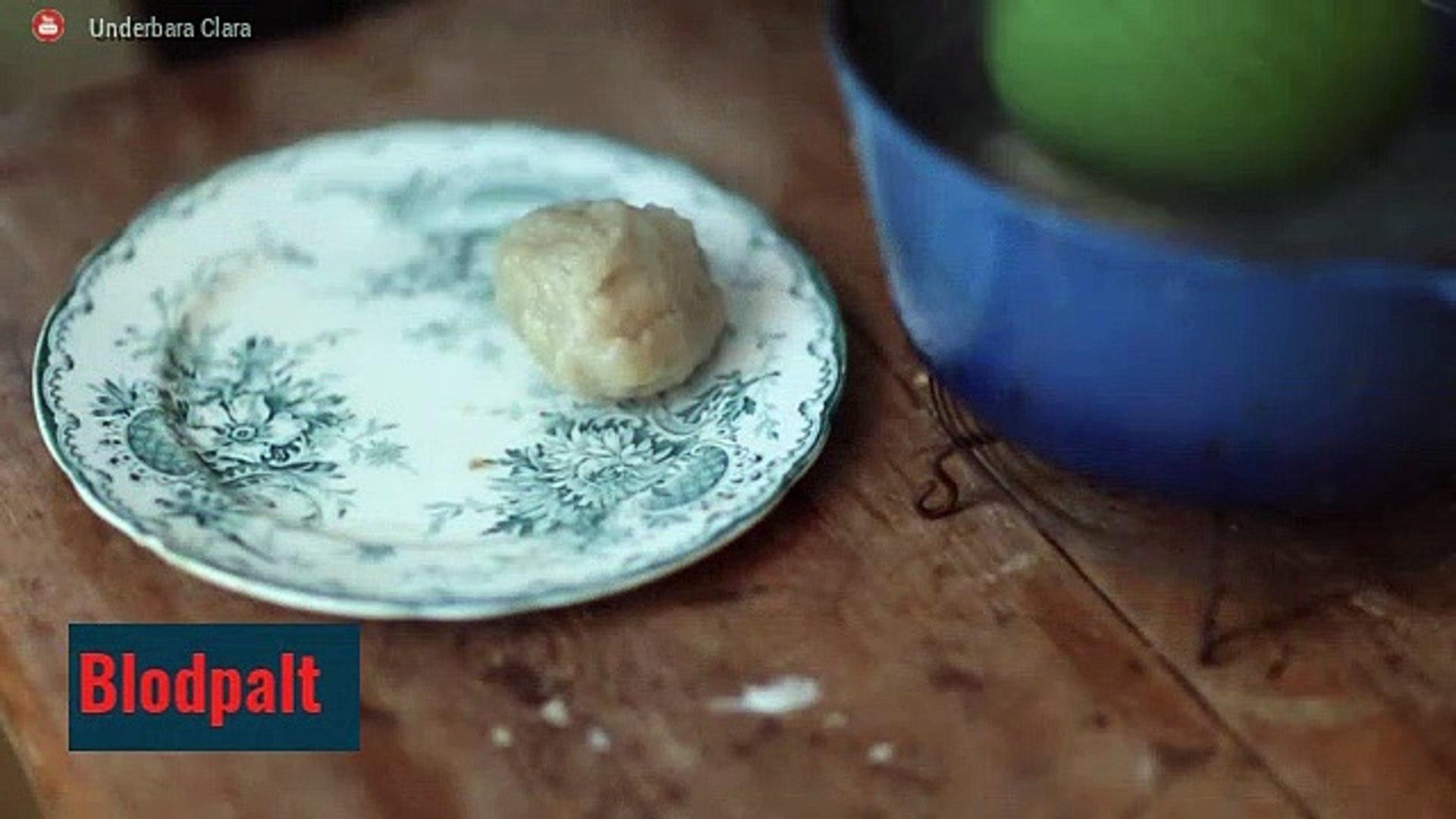 Gastronomía de Suecia: Blodpalt y Smörgåstårta