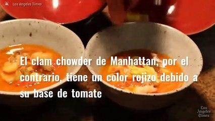 Gastronomía de Estados Unidos: Clam Chowder y Fried Coke