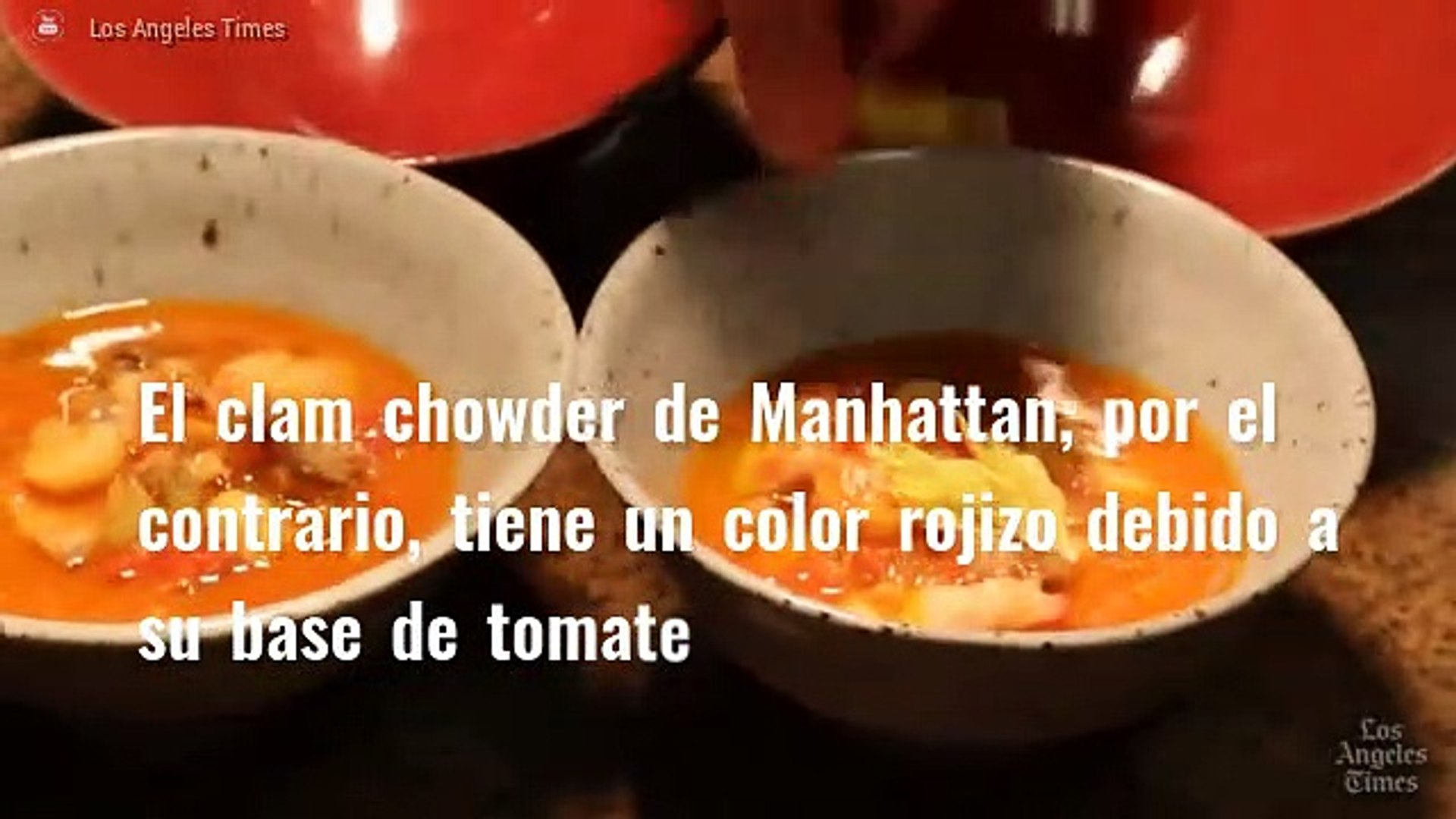 Gastronomía de Estados Unidos: Clam Chowder y Fried Coke