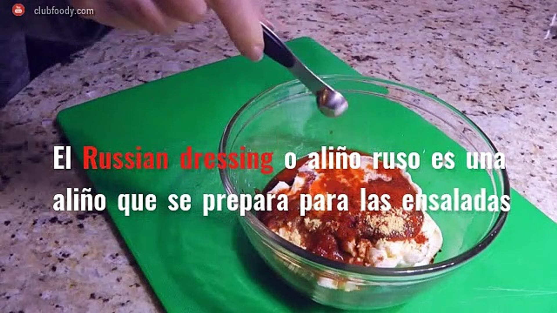 *Gastronomía de Estados Unidos*: Russian Dressing y Corn Pudding