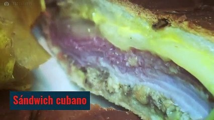 Gastronomía de Cuba: Sándwich cubano y Papa rellena