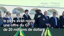 Amazonie: revirement de Bolsonaro sur l'aide proposée par le G7