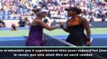 """US Open - Osaka : """"Je dois trouver plus de régularité"""""""