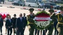 - Dışişleri Bakanı Çavuşoğlu, Belarus Cumhurbaşkanı Lukashenko tarafından kabul edildi- Bakan Çavuşoğlu'nun Belarus temasları