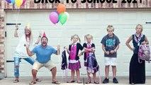 Des parents montrent l'horrible moment où leurs enfants retournent à l'école