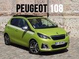 Essai Peugeot 108 1.0 VTi 72 Top Collection 2019