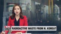 S. Korea testing seawater for radiation leaks from N. Korea