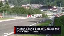 Ayrton Senna Saves Erik Comas   1992 Belgian Grand Prix