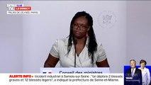 """Sibeth Ndiaye: """"Dans certains secteurs professionnels, nous savons qu'ils existent des tensions, des inquiétudes"""""""