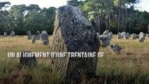 Découverte stupéfiante d'une trentaine de menhirs millénaires en Auvergne