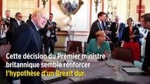 Brexit : pour contrer les oppositions, le gouvernement suspend le Parlement
