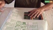 L'Avenir - Recouvrir un cahier en plastique adhésif