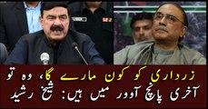 Zardari have only last 5 overs left: Sheikh Rasheed