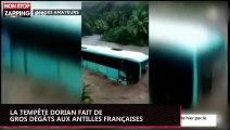 La tempête Dorian fait de gros dégâts aux Antilles françaises (vidéo)