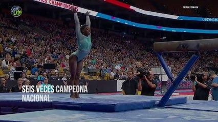 La historia de superació de la gimnasta Simone Biles