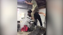 Skateboarding goes wrong!