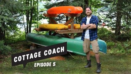 Cottage Coach Episode 5: Building a boat rack